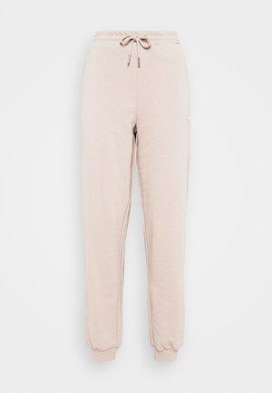 EDENA HIGH WAIST PANTS - Tracksuit bottoms - oxford tan