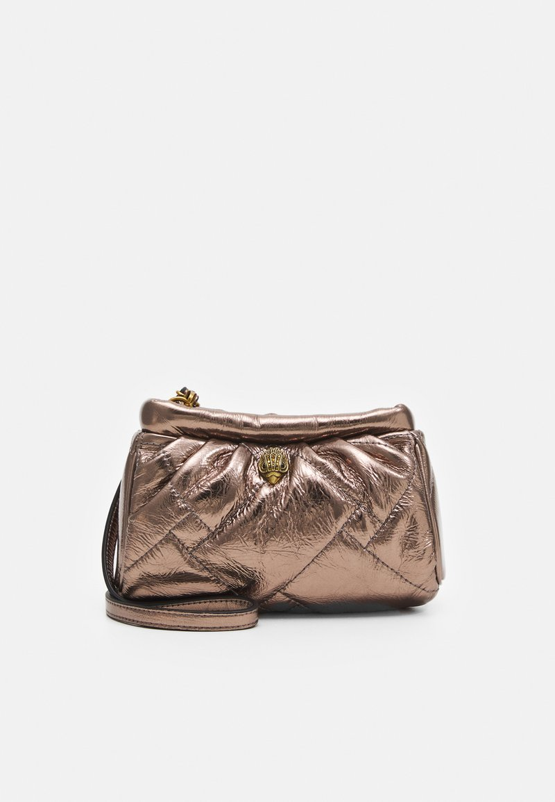 Kurt Geiger London - KENSINGTON SOFT - Across body bag - bronze