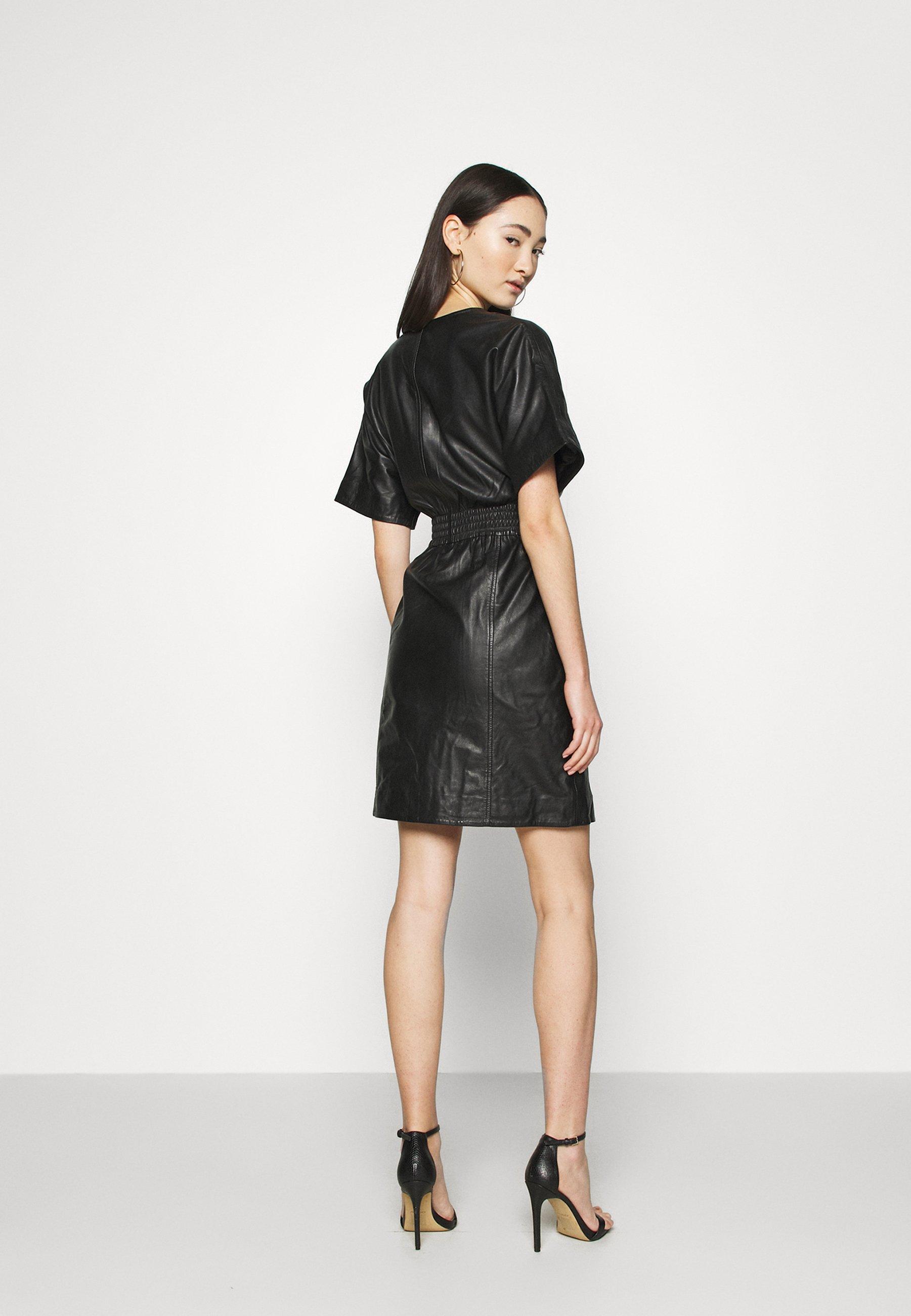 YAS YASSIRI DRESS Freizeitkleid black/schwarz