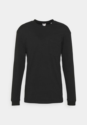 JCOTANBY TEE CREW NECK - T-shirt à manches longues - black