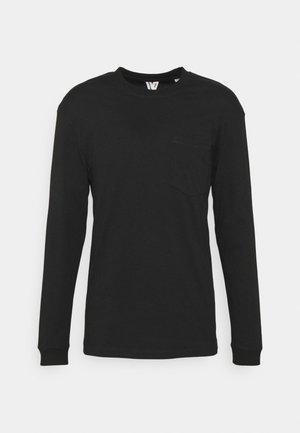 JCOTANBY TEE CREW NECK - Maglietta a manica lunga - black