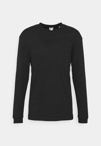 JCOTANBY TEE CREW NECK - Pitkähihainen paita - black