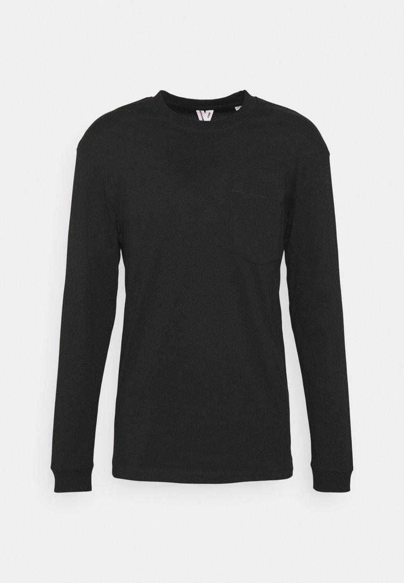 Jack & Jones - JCOTANBY TEE CREW NECK - T-shirt à manches longues - black