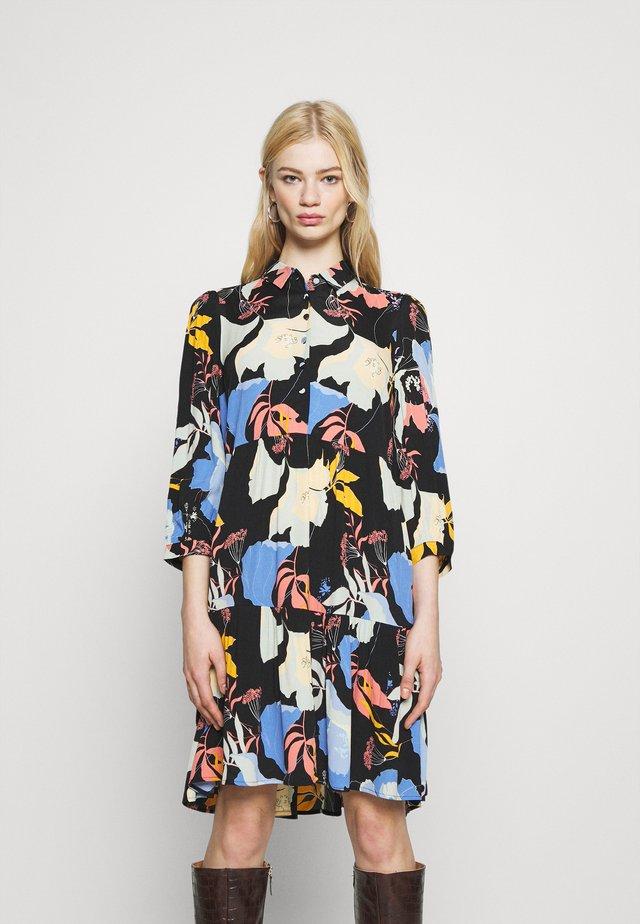 YASERIKA DRESS FT - Vapaa-ajan mekko - black