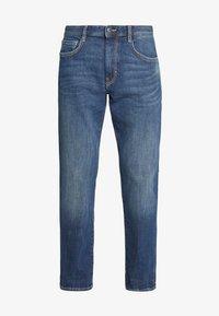 TOM TAILOR - MARVIN - Straight leg jeans - mid stone wash denim - 4