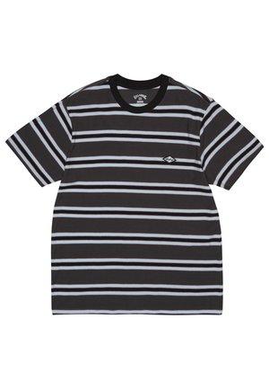 DIE CUT  - Print T-shirt - asphalt