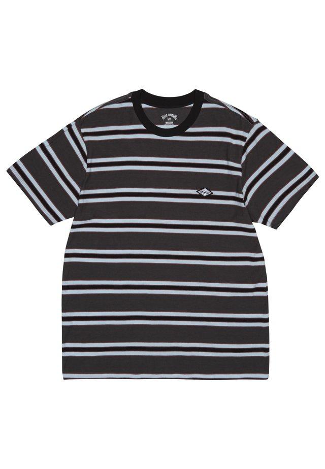 DIE CUT  - T-shirt con stampa - asphalt