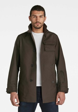 UTILITY TRENCH - Short coat - asfalt