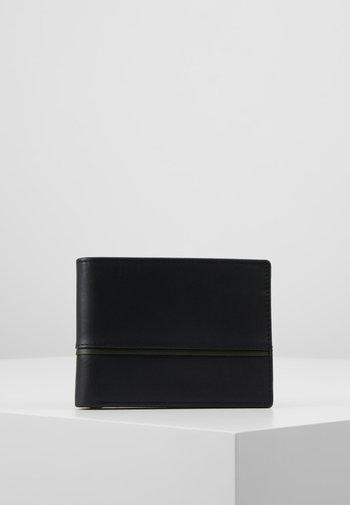 LEATHER - Wallet - olive/black