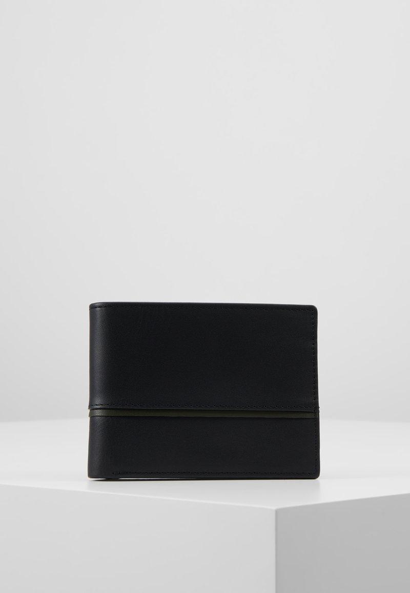 Zign - LEATHER - Peněženka - olive/black