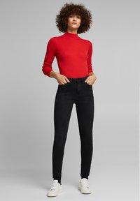 Esprit - Jeans Skinny Fit - black dark washed - 1