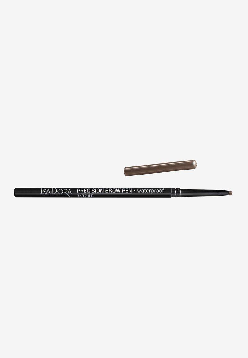 IsaDora - PRECISION BROW PEN WATERPROOF - Eyebrow pencil - taupe