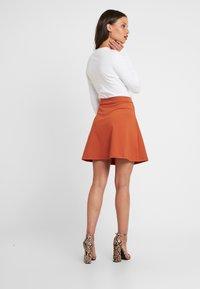 Even&Odd Petite - A-line skirt - brown - 2