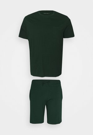 SET - Pyjama set - dark green