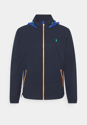 HOOD ANORAK JACKET - Vodotěsná bunda - french navy