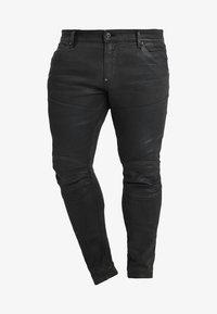 G-Star - 5620 3D SKINNY PM - Jeans Skinny Fit - loomer black rop stretch denim dk aged cobler - 4