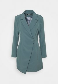 Missguided - STRUCTURED TAILORED DRESS - Robe fourreau - teal - 3