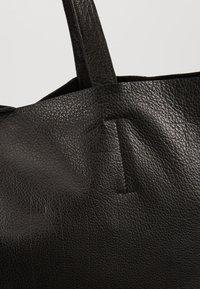 YAS - YASLOMA TOTE ICONS - Tote bag - black - 6