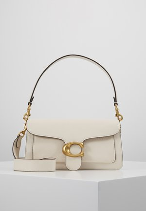 TABBY POLISHED SMALL FLAP BAG HANDBAG - Torebka - chalk