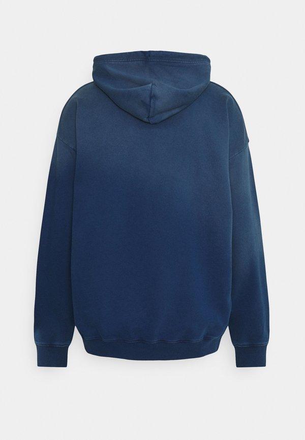 Diesel S-UMMERIB-A81 FELPA - Bluza z kapturem - blue/niebieski Odzież Męska DYAY
