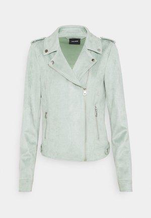 VMBOOSTBIKER JACKET - Faux leather jacket - jadeite