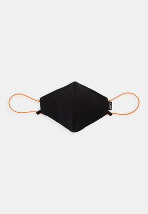HANGING ON ADJUSTABLE STRING MASK UNISEX - Tygmasker - black/pumpkin
