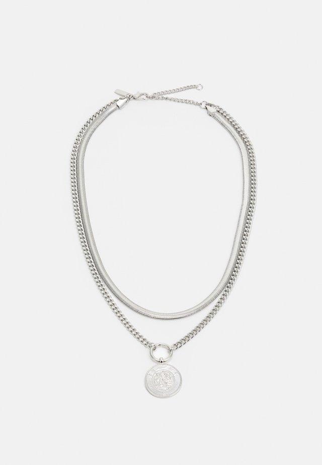COIN PEND MULTIORW - Náhrdelník - silver-coloured