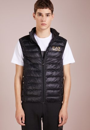 JACKET VEST - Chaleco - black