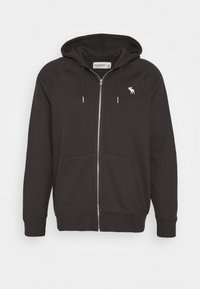 Abercrombie & Fitch - ICON FULLZIP - Jersey con capucha - anthrazit - 3