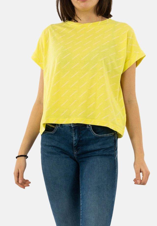 T-shirt basique - jaune