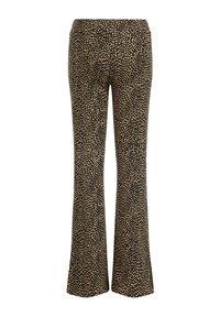 WE Fashion - MET DESSIN - Broek - light brown - 4