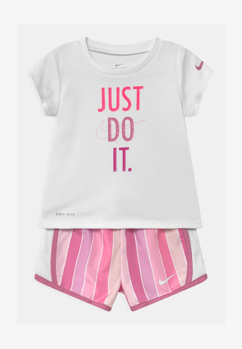 Nike Sportswear - STRIPE TEMPO SET - Shorts - magic flamingo