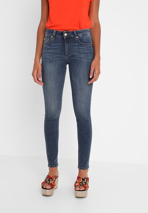 UP DIVINE - Jeans Skinny Fit - denim blue