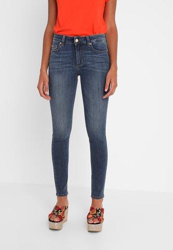 UP DIVINE - Jeans Skinny Fit - denim blue
