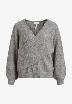 Pullover - medium grey melange
