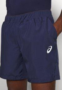 ASICS - CLUB SHORT - Pantalón corto de deporte - peacoat/graphite grey - 4