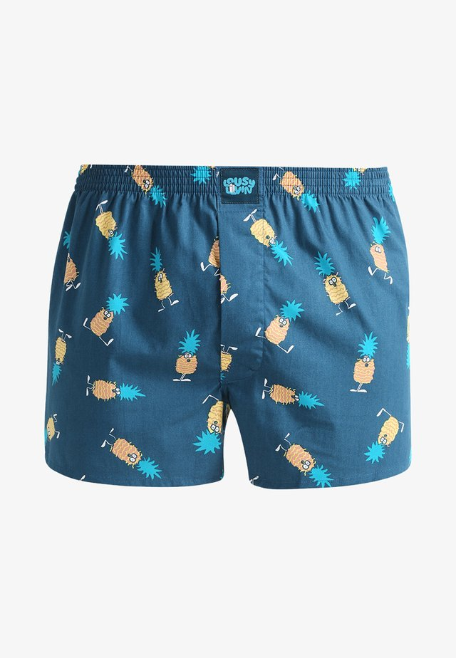 ANANAS - Boxer shorts - blue dive