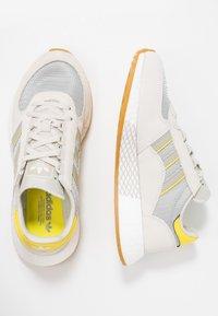 adidas Originals - MARATHON TECH  - Trainers - raw white/sesame/bright yellow - 3
