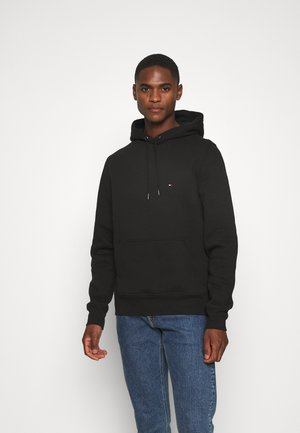 BASIC FLAG HOODY - Kapuzenpullover - black
