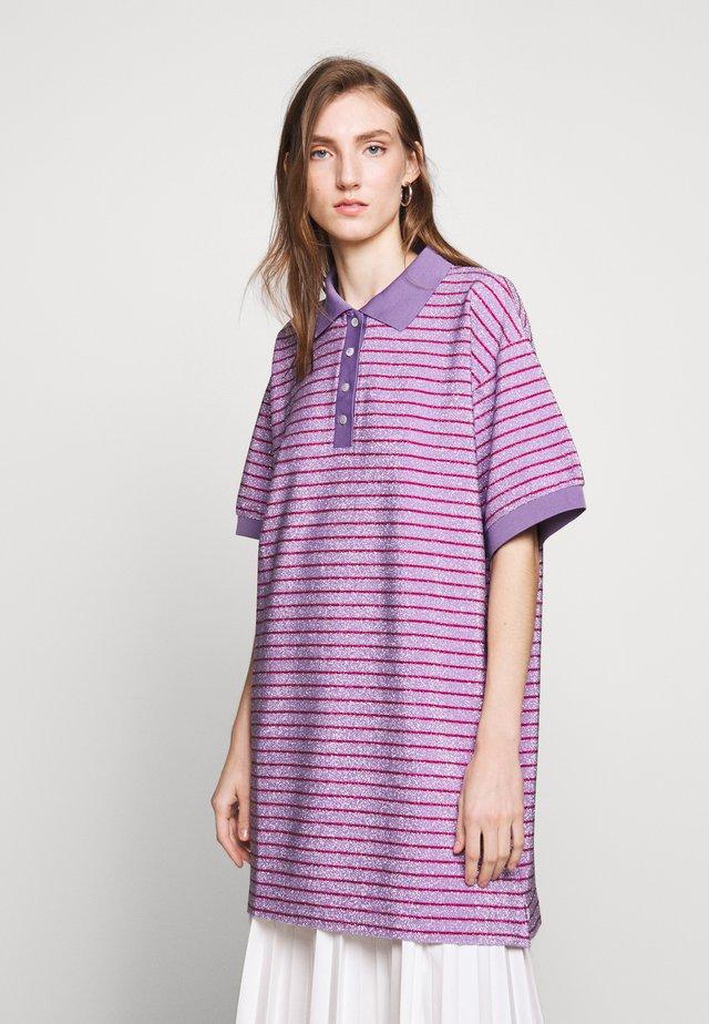 Jerseyklänning - purple