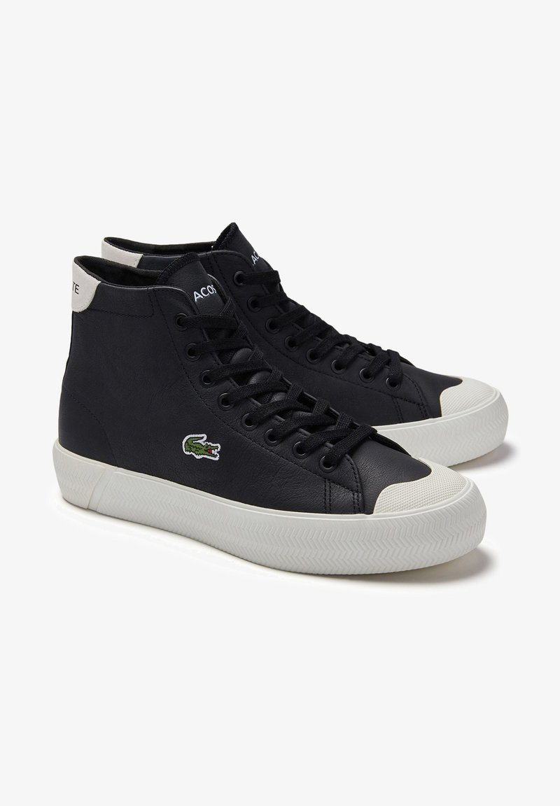 Lacoste - Baskets basses - blk/off wht