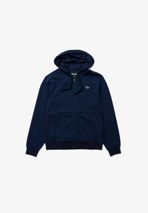 HODDED JACKET - Training jacket - bleu marine / bleu marine