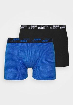 MEN MINI STRIPE 2 PACK - Culotte - blue