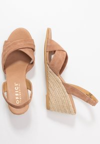 Office Wide Fit - MILLS - Espadrilles - taupe - 3