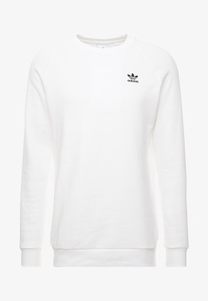 ESSENTIAL CREW UNISEX - Collegepaita - white/black