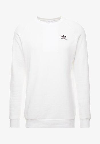 ESSENTIAL CREW - Felpa - white/black