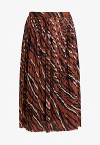 one more story - SKIRT - A-Linien-Rock - coffee caramel - 5