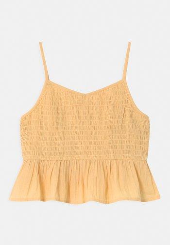 GIRL - Top - wheat gold