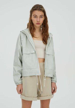 Faux leather jacket - mint