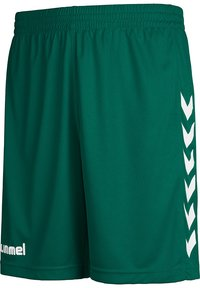 Hummel - Sports shorts - evergreen pr - 2